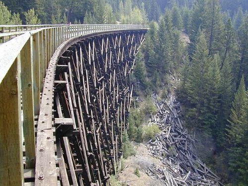 Kettle Valley Rail Trail in Penticton