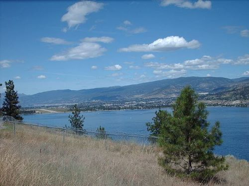 Skaha and Okanagan Lake in Penticton