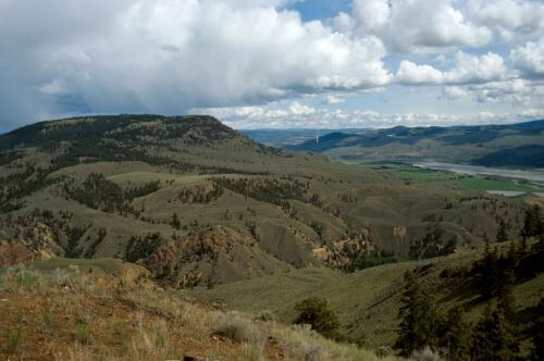 Lac Du Bois Grassland Protected Area in Kamloops